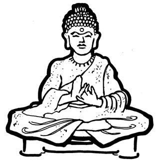 Clipart gautam buddha.