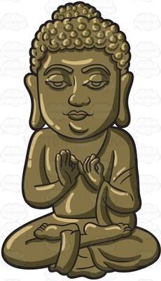 Gautama Siddhartha Cartoon Clipart.