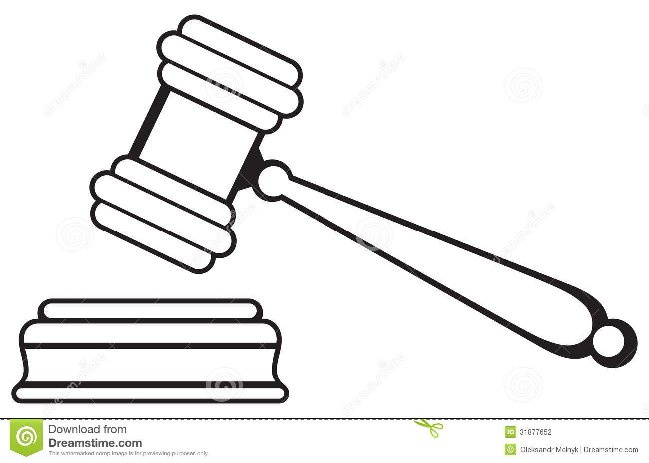 Judges Gavel Clipart.