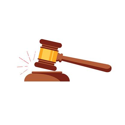 Law gavel clipart.
