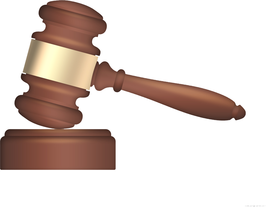 Gavel PNG images free download.