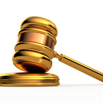 Gavel clipart free clipart image.