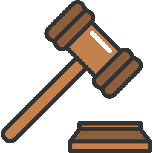 1179 Gavel free clipart.