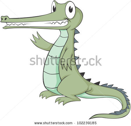Gavial Stock Images, Royalty.