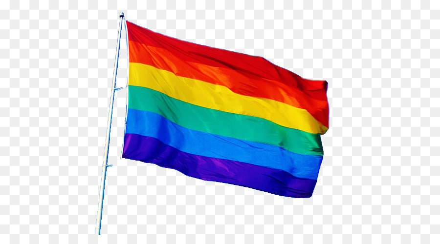 Rainbow Flag png download.