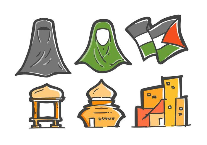 Free Unique Gaza Vectors.