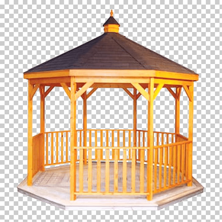 Hot tub Gazebo Wood Pergola Deck, gazebo PNG clipart.