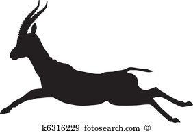 Gazelle Clipart Illustrations. 404 gazelle clip art vector EPS.