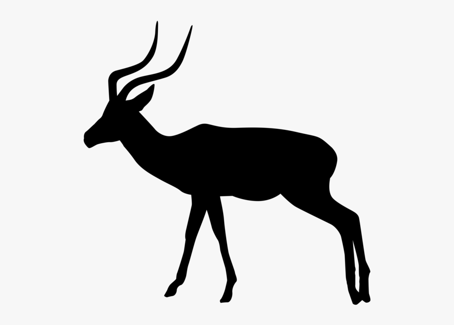 Gazelle Silhouette Png Transparent Clip Art Image Gallery.
