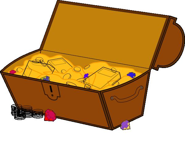 Free Treasure Chest Clipart.