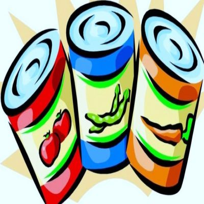 Canned Food Clip Art Free.