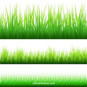 421 free grass vector art.