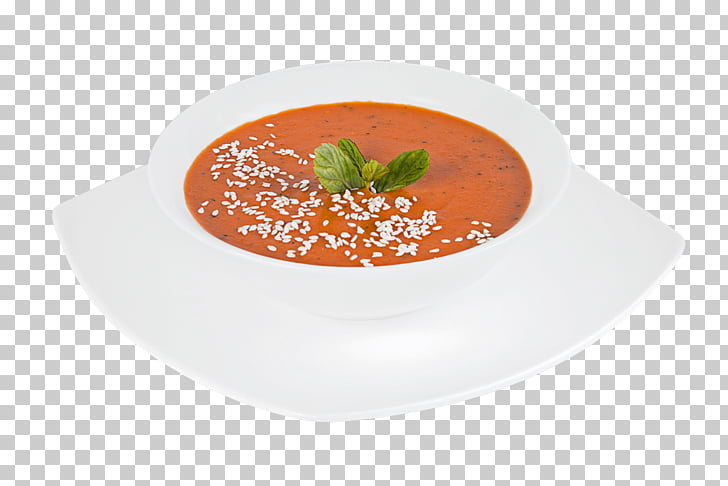 Tomato soup Gazpacho Plate Bisque Vegetarian cuisine, Plate.