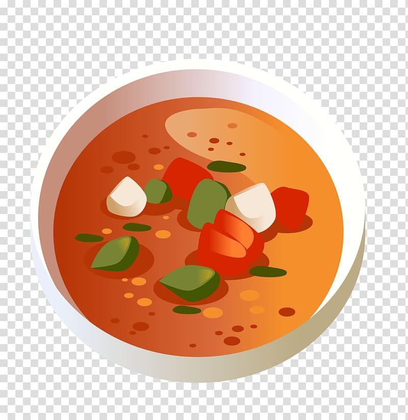 Breakfast Congee Tomato soup Gazpacho, breakfast transparent.