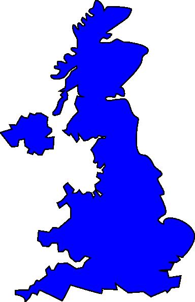 Gb Map Clip Art at Clker.com.
