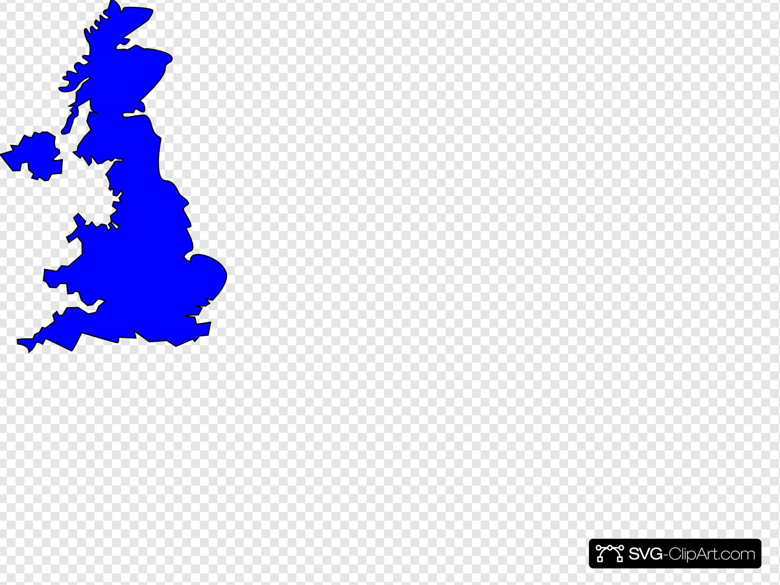 Gb Map Clip art, Icon and SVG.