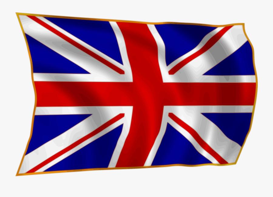 England Flag Clipart Man.