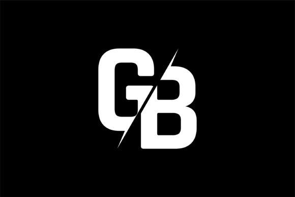 Monogram GB Logo Design.