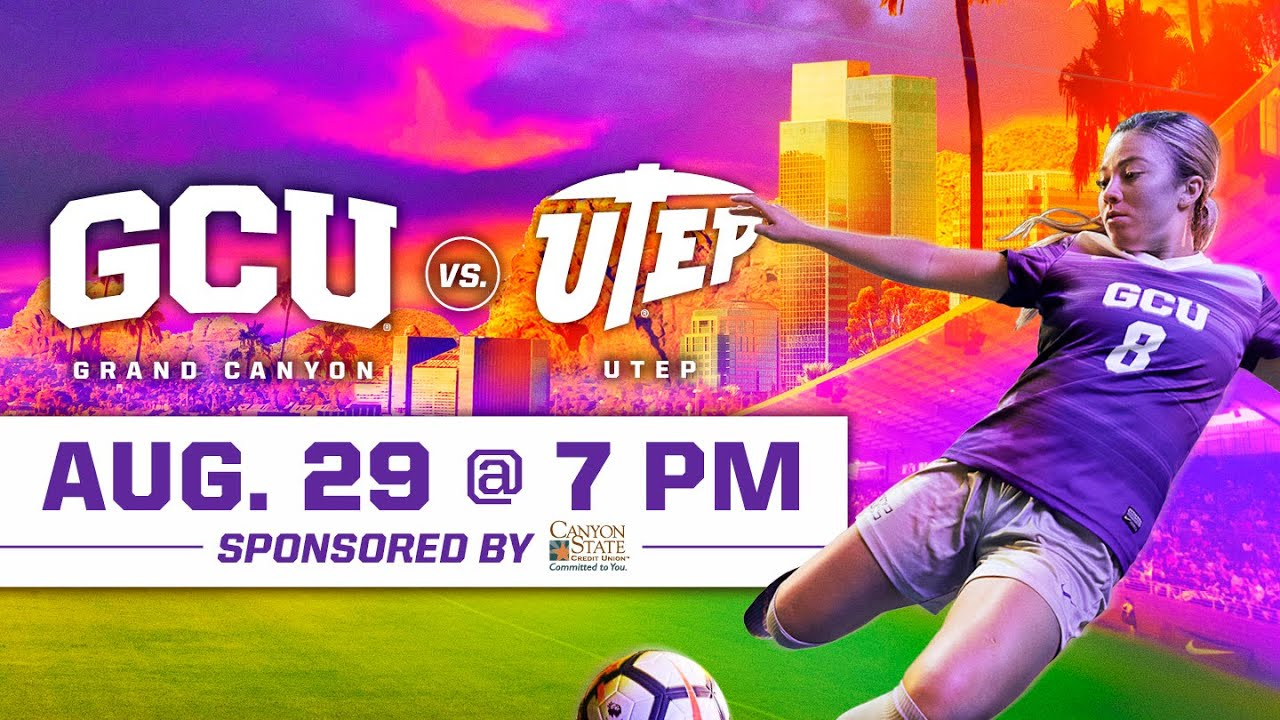 GCU Women\'s Soccer vs. UTEP August 29, 2019.