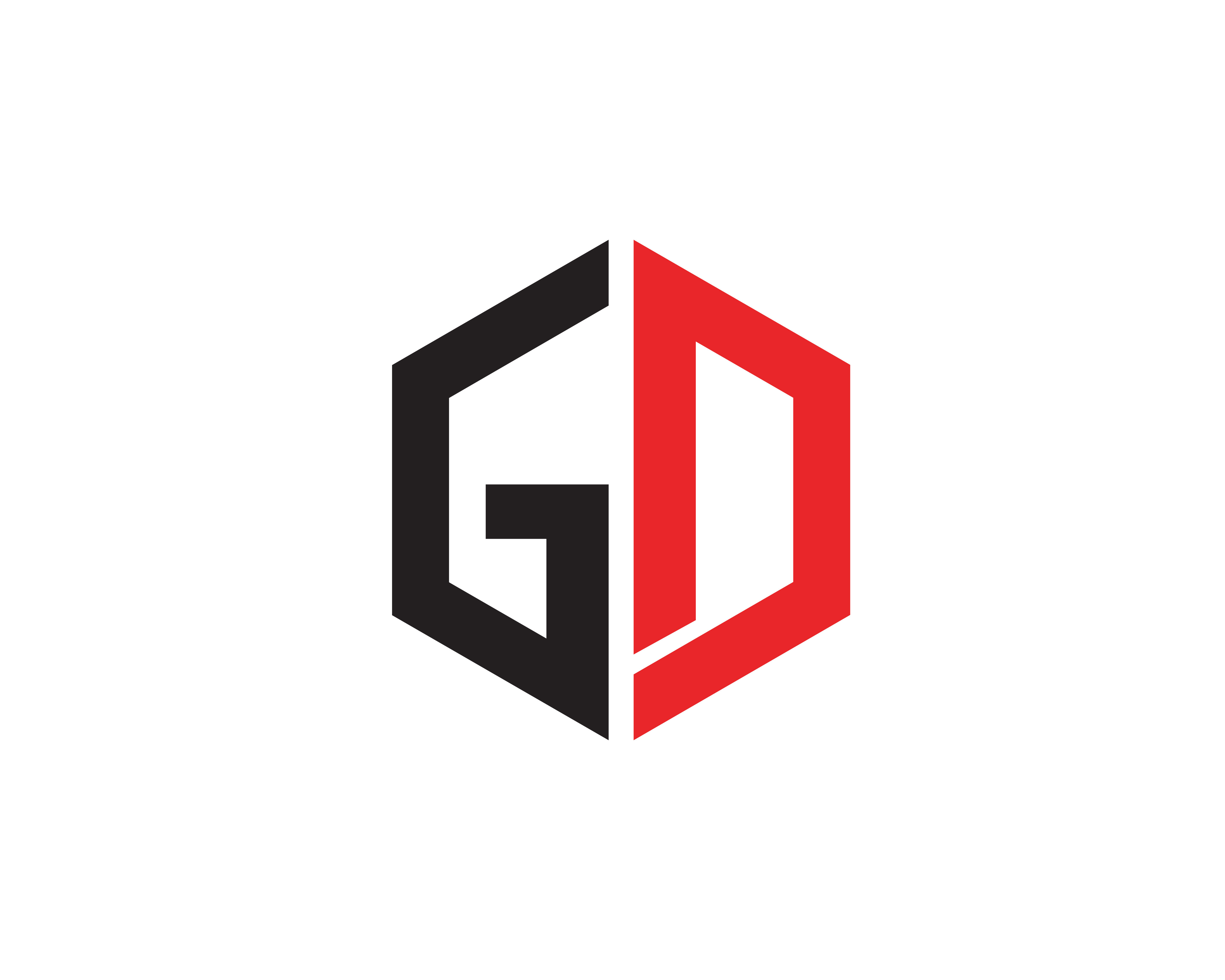 Gd Logo Free Vector Art.