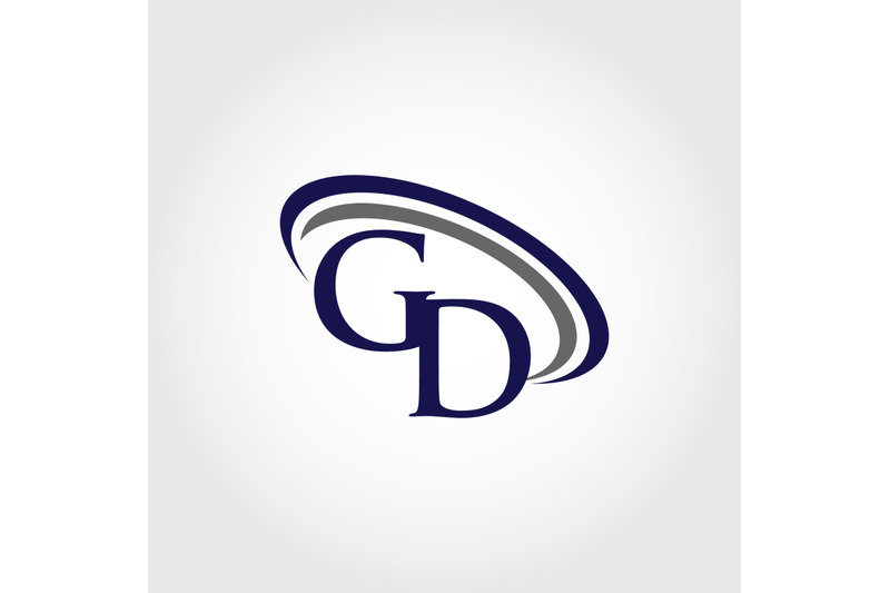 Monogram GD Logo Design By Vectorseller.