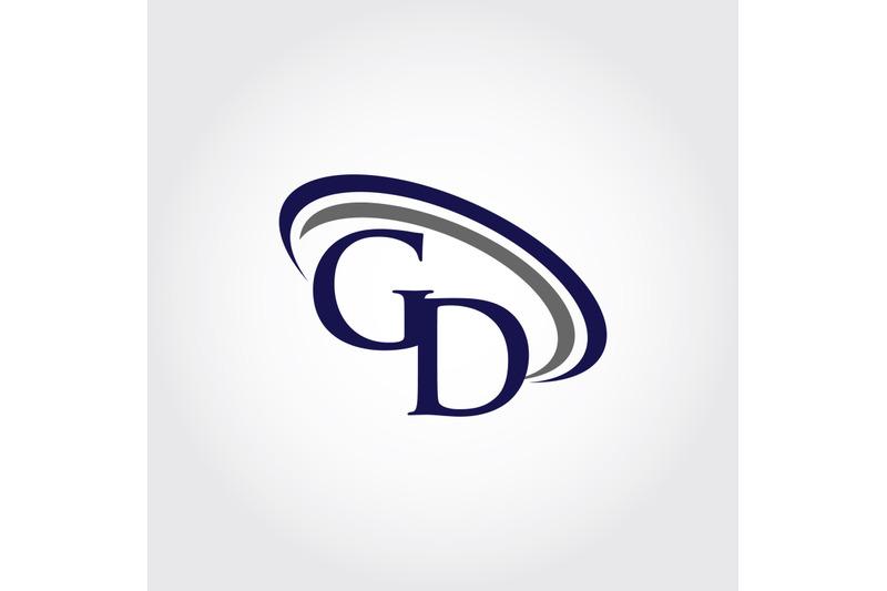Monogram GD Logo Design By Vectorseller.