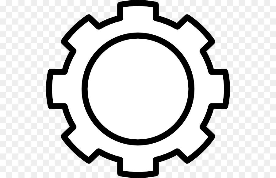 White Circle clipart.