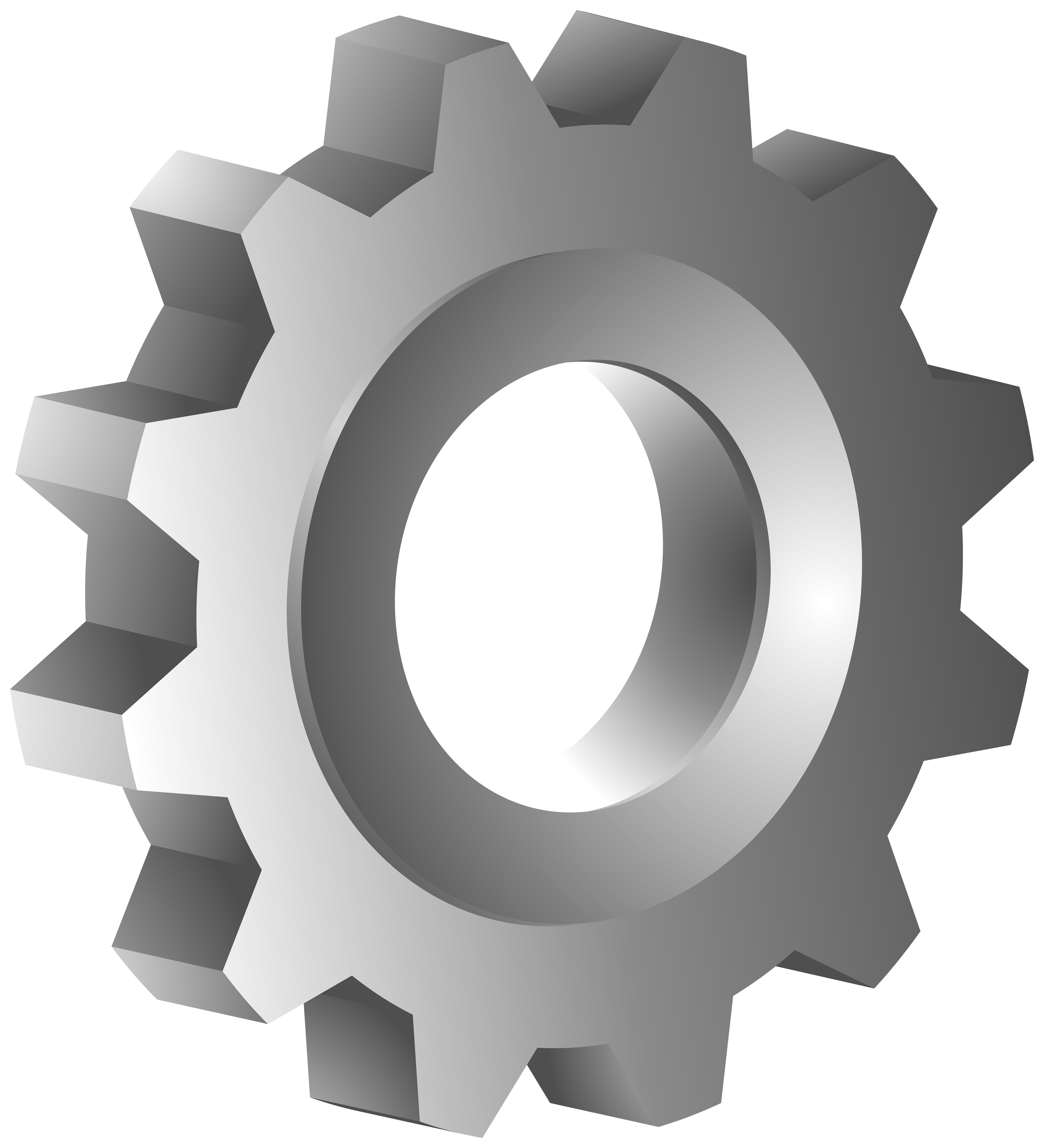 Gear PNG Clipart.