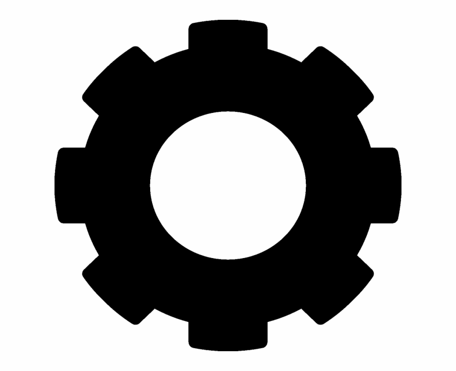 Cog Icon Png Clipart Gear Transparent Background.