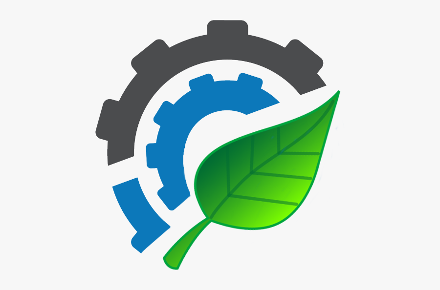 Machine Gear Logo , Free Transparent Clipart.