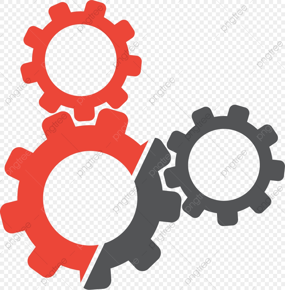 Red Black Gear, Black Vector, Gear Vector, Gear PNG and Vector with.