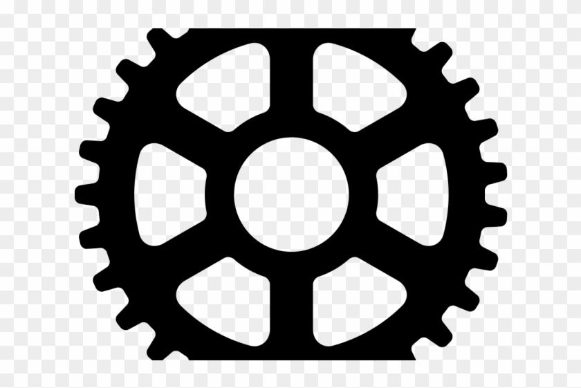 Steampunk Gear Clipart Bicycle Gear.