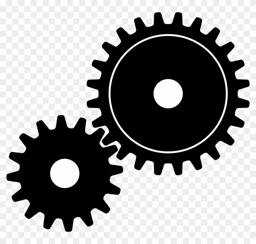 Collection Of Free Gears Vector Gambar.