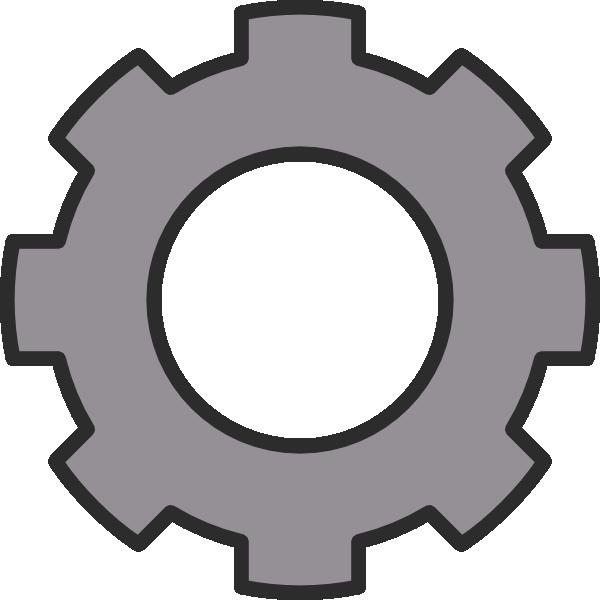 Clipart gear wheel.