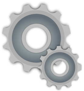 Melted Gearbox Clip Art Download.