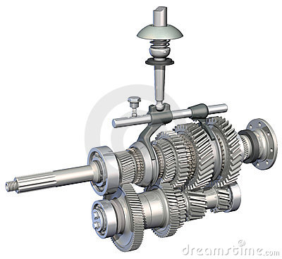 Gearbox Stock Illustrations.