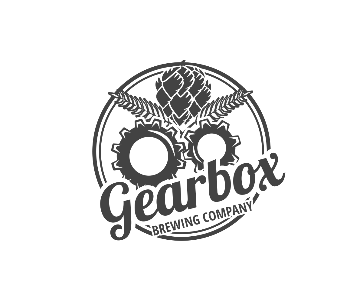 Traditional, Elegant, Craft Brewery Logo Design for GEARBOX.