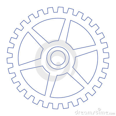Gear Wheel Royalty Free Stock Images.