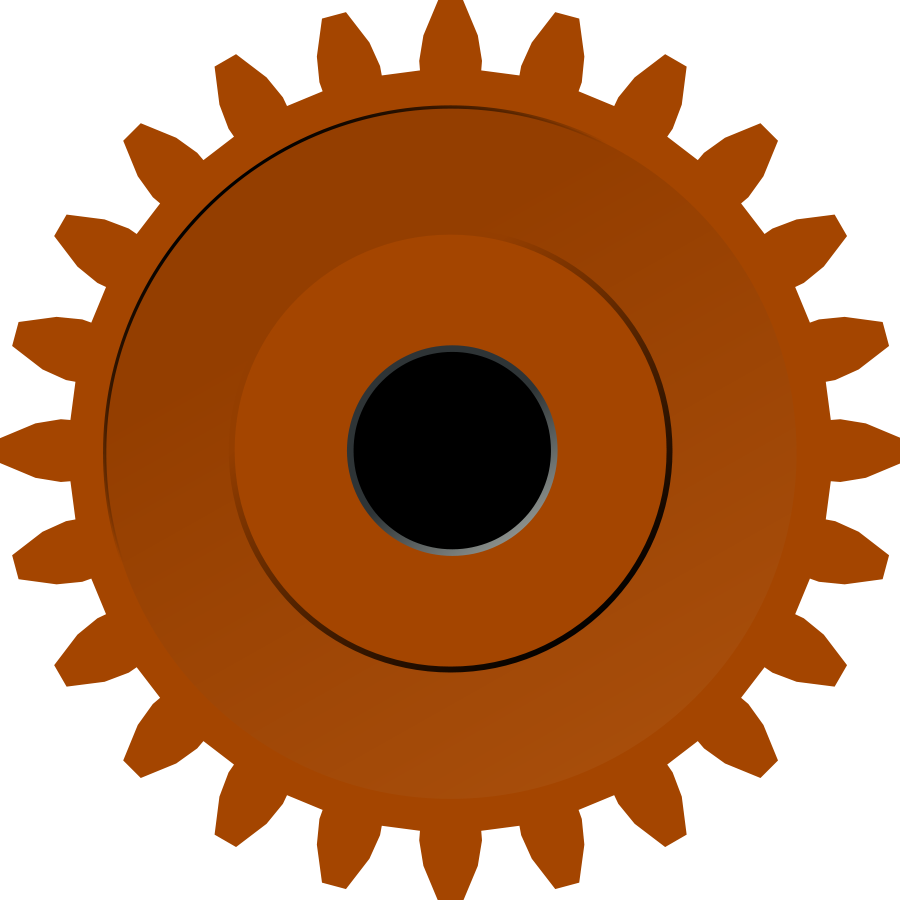 Steam Gear Clipart, vector clip art online, royalty free design.