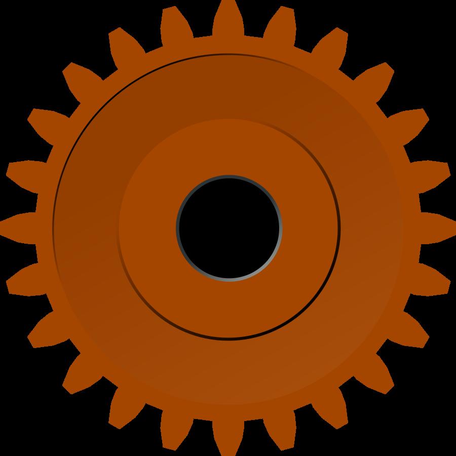 Steam Gear Clipart, vector clip art online, royalty free design.