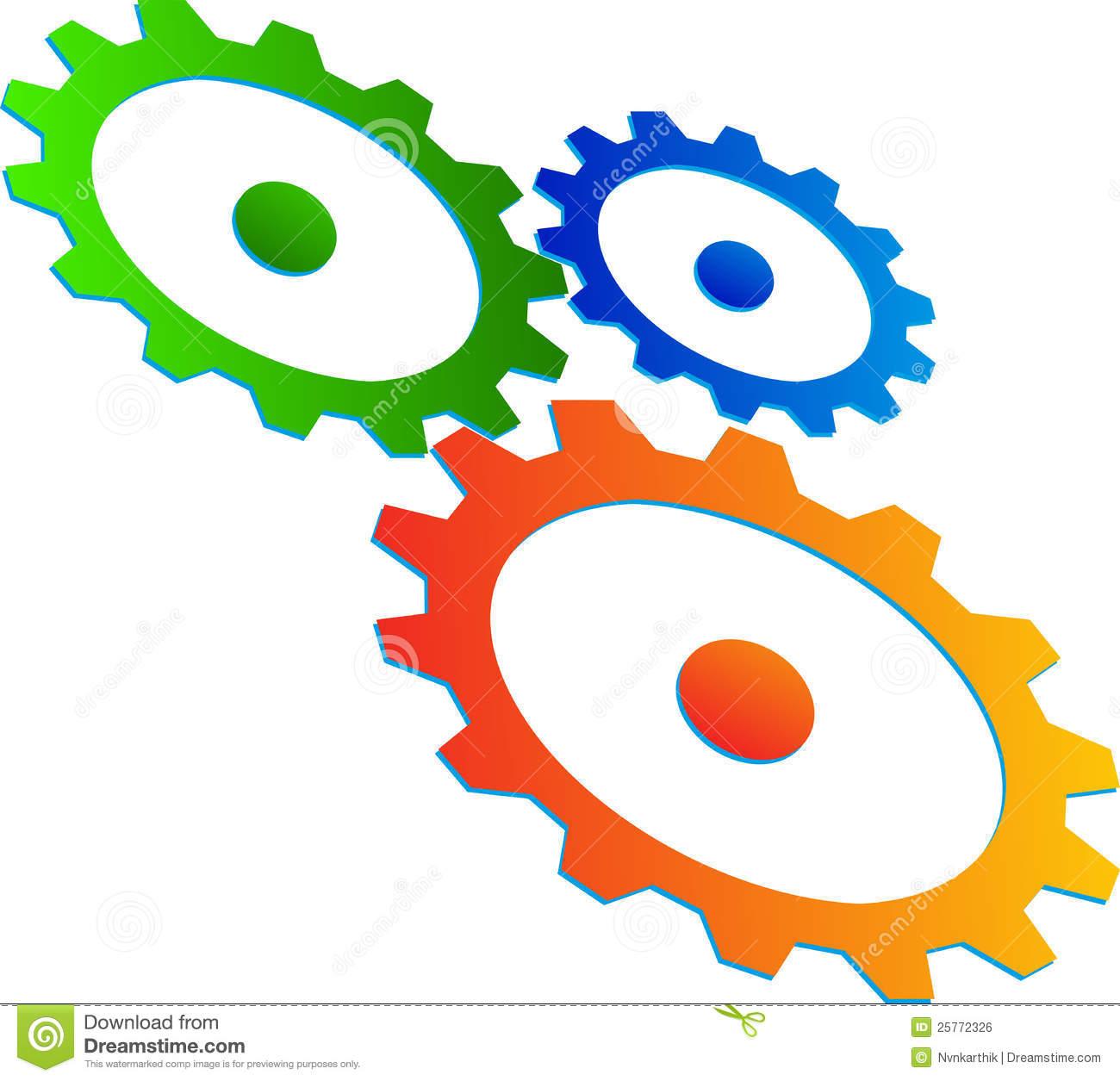 Gear Wheels Royalty Free Stock Image.