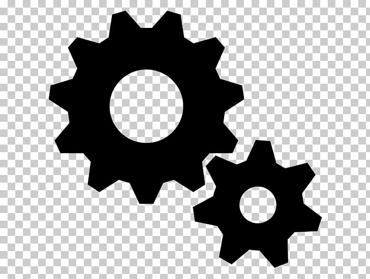 Gear , gears PNG clipart.