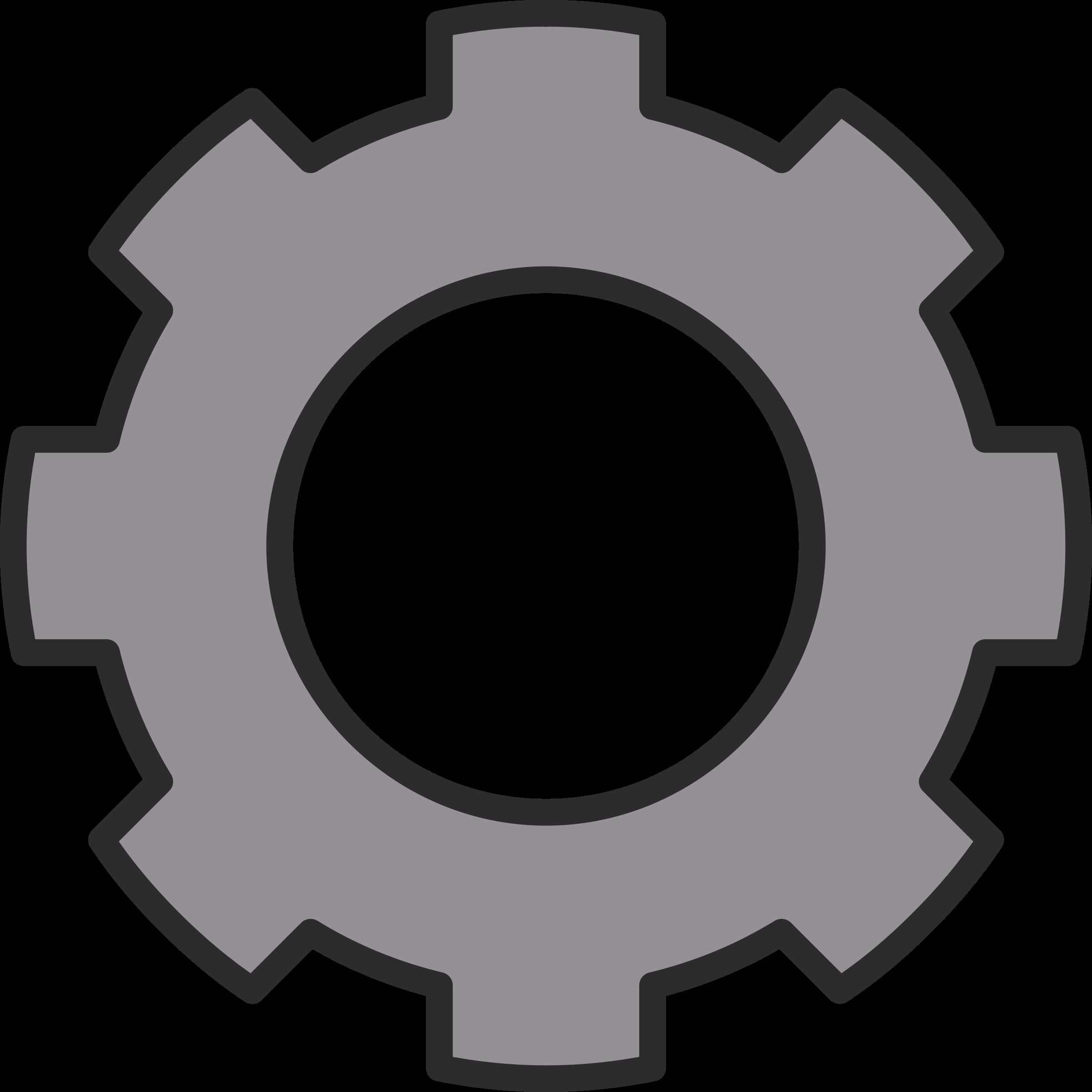 Gear Clipart Free Clip art of Gear Clipart #6452 — Clipartwork.