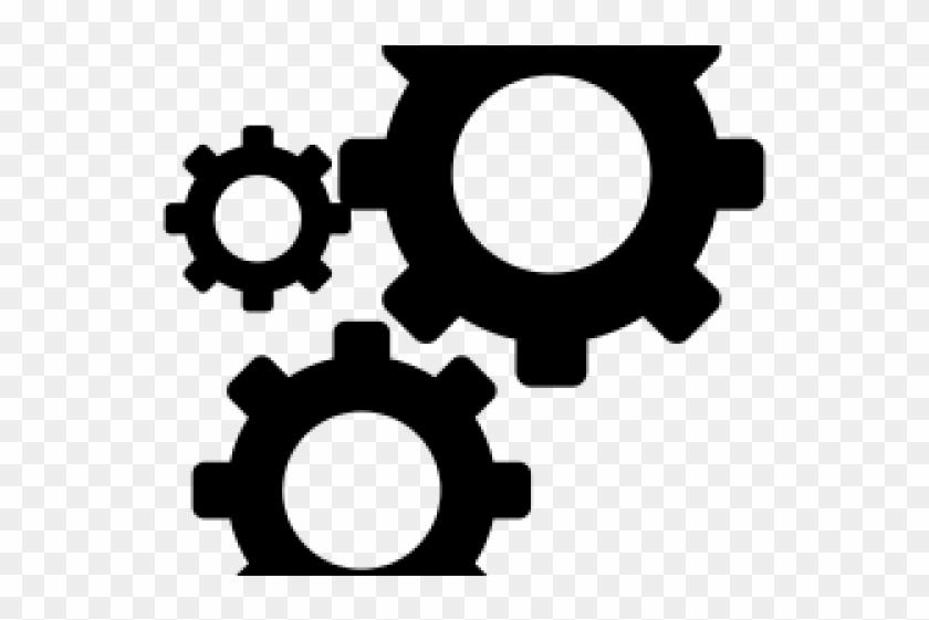 Gears Clipart Gear Icon.