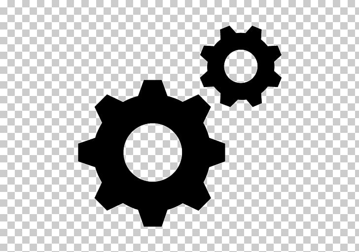 Gear Icon, Gears Transparent Background PNG clipart.