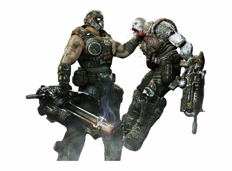 gears of war 3 png #7