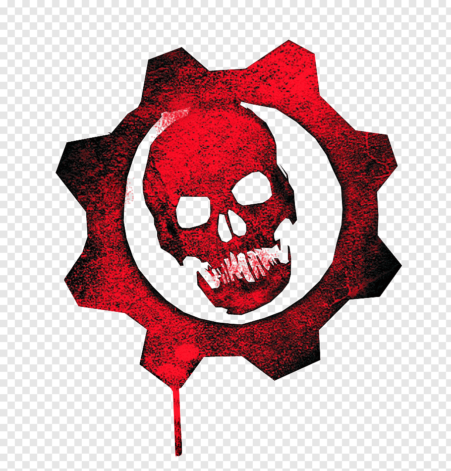 Gears of War logo, Gears of War 4 Gears of War 3 Gears of.