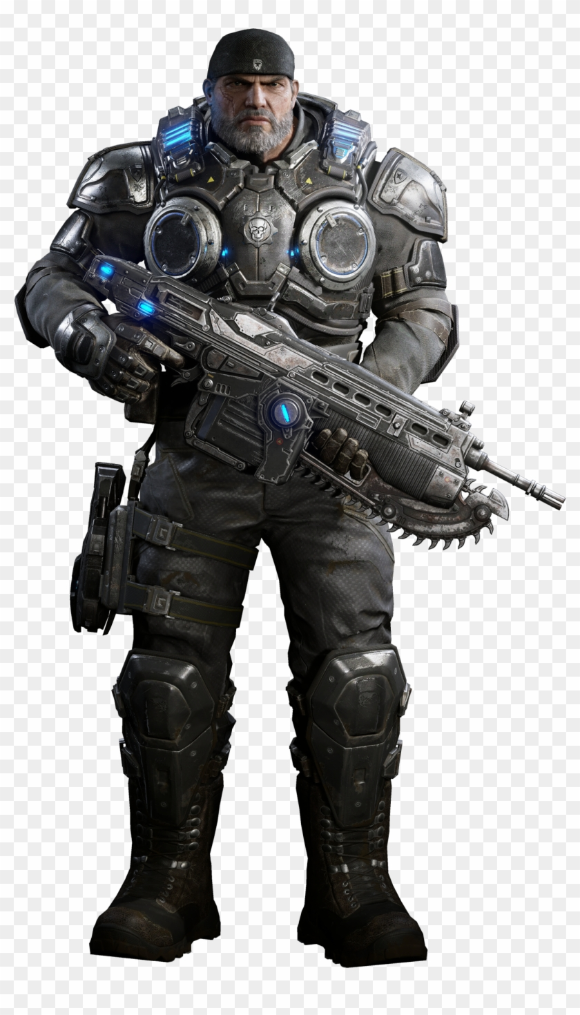 Gears Of War 4 Characters.