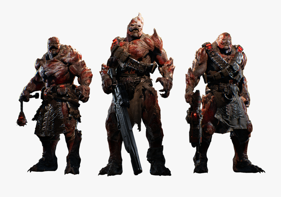 Gears Of War 4 Characters Png , Free Transparent Clipart.