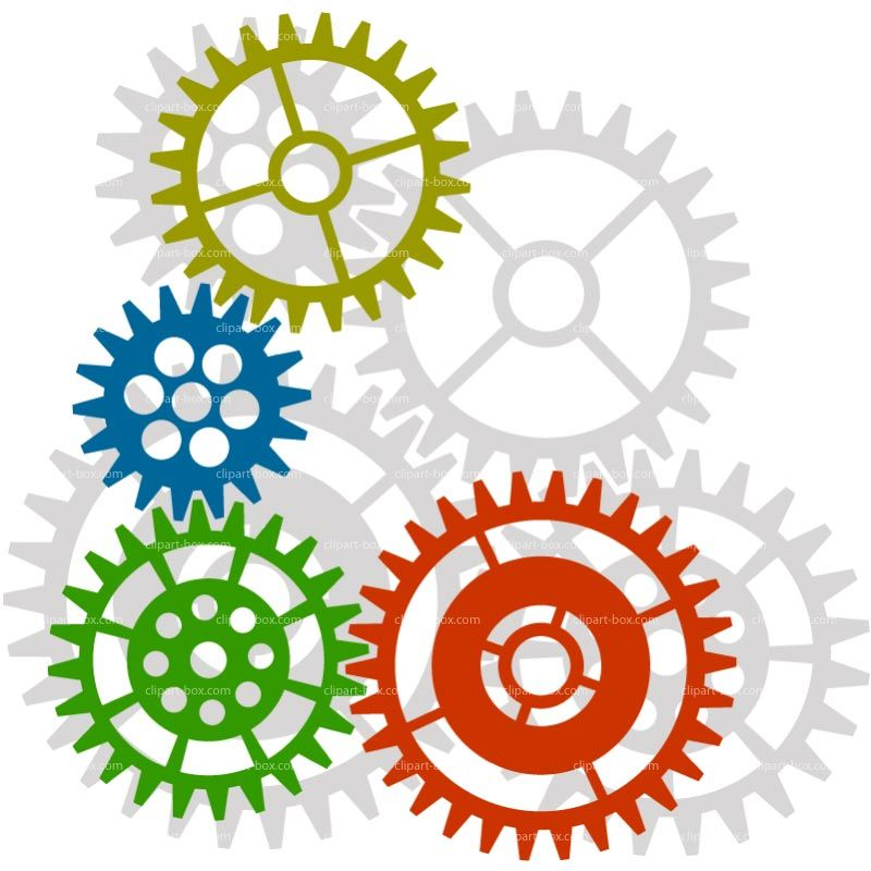 Image result for gears clipart.